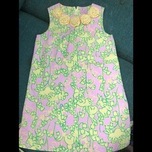 Lilly Pulitzer Girls Shift Size 7